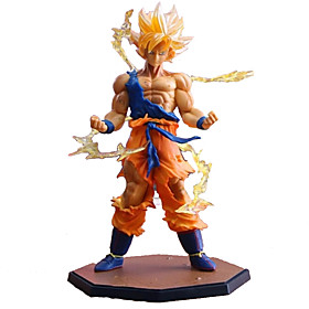 18CM Dragon Dall Z Action Figures Super Saiyan Son Goku PVC Collectible Toy Model 4880452