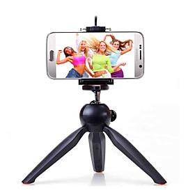 YUNTENG 228 Stativ selfie Sticks mit Klemme fur Telefon und Kamera