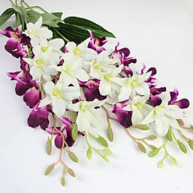 """26.8"""" High Quality Artificial Cattleya High Fashion Artificial Flower For Wedding Living Room Decoration Orchids 1pc/set"""