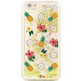 $Για Θήκη iPhone 6 / Θήκη iPhone 6 Plus Ρέον υγρό / Με σχέδια tok Πίσω Κάλυμμα tok Φρούτα Σκληρή PC AppleiPhone 6s Plus/6 Plus / iPhone