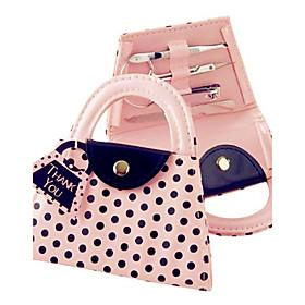 Recipient Gifts - 1Box/Set, Pink Hangbag Design Manicure Set, Pedicure Set Wedding Favors, Beter Gifts 5093661