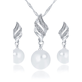 Women's Jewelry Set - Imitation Pearl Fashion