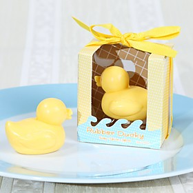 Rubber Ducky Soap Wedding Gifts, Baby Shower Children's day Birthday Favors 5059354