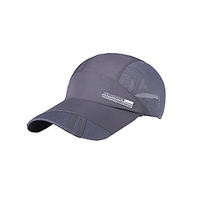 Image of Hats Unisex Breathable / UV resistance Exercise Fitness / Golf / Baseball Pink / Gray / Blue /