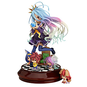 Anime Action Figures Inspired by No Game No Life Shiro PVC 20 CM Model Toys Doll Toy 4925968