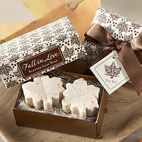 Maple Leaf Shape Love Soap Favor for Wedding Gift 5115865