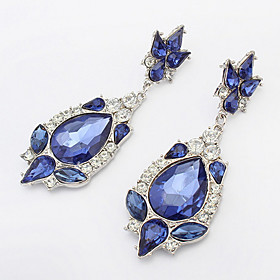 Fashion Flash Diamond Droplets Earrings Jewelry Street Beat Up People