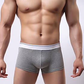 Men's Cotton Boxer Briefs