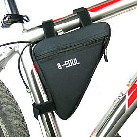 B-SOUL Bike Frame Bag / Triangle Frame Bag Moistureproof, Wearable, Shockproof Bike Bag Polyester / PVC(PolyVinyl Chloride) / Terylene Bicycle Bag Cycle Bag Cy