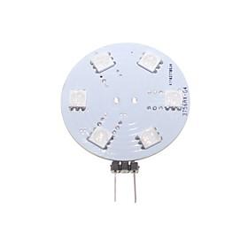 G4 GZ4 RGB 2W 9x5050SMD LED Cabinet RV Spot Light Lamp Bulb or Home Car Marine Boat Lamp DC/AC 12V
