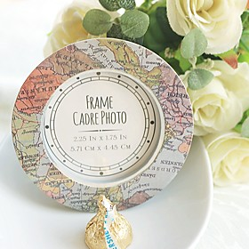 Recipient Gifts - 1Piece/Set - World Map Photo Frame Escort Place card holder wedding  décor, Party Reception 5093696