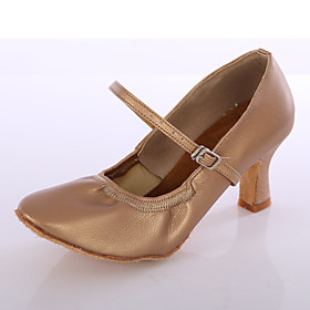 Women's Latin Shoes / Ballroom Shoes Faux Leather Buckle Heel Buckle Customized Heel Customizable Dance Shoes Black / Brown / White / Indoor / EU40 Category:Ballroom Shoes,Latin Shoes; Upper Materials:Faux Leather; Embellishment:Buckle; Lining Material:Fabric; Heel Type:Customized Heel; Actual Heel Height:Customized Heel; Range:EU40; Style:Heel; Outsole Materials:Leather; Occasion:Indoor; Closure Type:Buckle; Customized Shoes:Customizable; Listing Date:08/22/2016; Foot Length:; SizeChart1_ID:2:468; Size chart date source:Provided by Supplier.; Base Categories:Dance Shoes,Shoes,Apparel  Accessories; Popular Country:United States