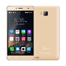 Kenxinda R7 5.5 Android 5.1 4G Smartphone (Dual - SIM Quad Core 2 MP 1GB 8 GB Gold \/ Silber)