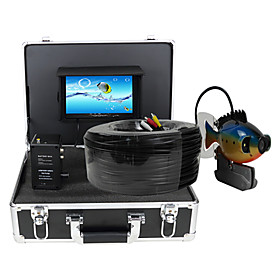 "Image of Fish Finder Underwater Camera 100m Underwater Video Camera Fishing Fish Finder 7"" TFT LCD Colour Screen DVR Function"