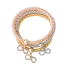 Bracelet Charm Bracelet Alloy Bowknot Adorable Jewelry Gift Gold / Silver / Rose Gold,1set