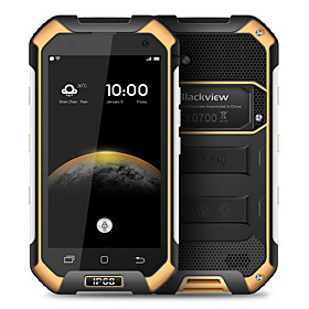 Blackview Blackview BV6000 4.7 Android 6.0 4G-smartphone ( Dubbele SIM Octa-core 8 MP \/ 13 MP 3GB 32 GB Groen \/ Oranje \/ Zwart )