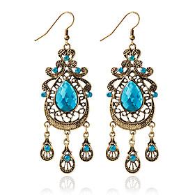 1pair/Blue Hoop Earrings forWomen