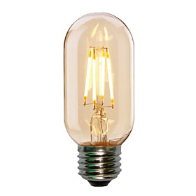 4W E27 T45 Edison Style Antique LED Filament Tubular Light Bulb(220-240V)