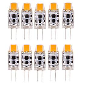 1W G4 LED Bi-pin Lights T 1 COB 100-150 lm Warm White Cold White Natural White 3000-6000 K Waterproof Decorative DC 12 AC 12 AC 24 DC 24 V 10pcs
