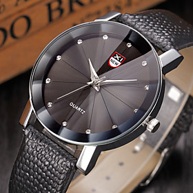 Business Quartz Watch Men outdoor Sport Watches Men Corium Crocodile Leather Strap wristwatch clock hours Complete Gift