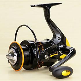Spinning Reels 5.2/1 13 Ball Bearings Exchangable Spinning / Lure Fishing-AD2000-5000 Yumoshi