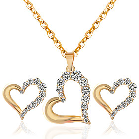 Jewelry Set Women's Anniversary / Wedding / Birthday / Gift / Party / Special Occasion Jewelry Sets 5184856