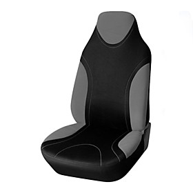 Car Seat Covers Seat Covers Black / Blue / Black  Yellow / Black  Gray Textile Common For Volvo / Volkswagen / Toyota IS350