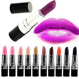 20 Colors Daily Makeup Lipsticks Dry / Matte / Combination Waterproof / Breathable / Shimmer glitter gloss 1160 Cosmetic Grooming Supplies