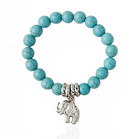 Bracelet Strand Bracelet Alloy Circle Fashion Wedding Jewelry Gift Light Blue,1pc
