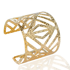 Bracelet Cuff Bracelet Alloy Tube Fashion Wedding / Party / Daily / Casual Jewelry Gift Gold / Silver,1pc