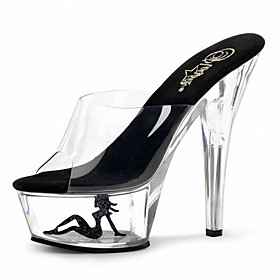 15cm sexy and waist boots/Women's Shoes Patent Leather/Fashion Boots Boots Party  Evening/Dress Stiletto Heel Zipper 3204