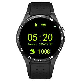 Smartwatch 3G Kingwear W8 1.39'' Amoled 400400 Smart Watch 3G Calling 2.0MP Camera Pedometer Heart Rate