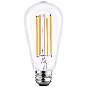 4W E27 ST64 Vintage LED Edison Bulbs Filament Light Bulb Energy Saving 4W LED- 40W Equivalent(220-240V)