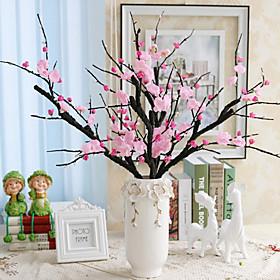 1 Branch Silk Sakura Tabletop Flower Artificial Flowers