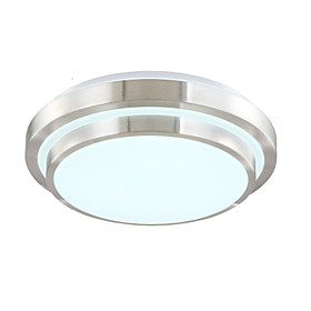 15 Flush Mount -  Modern/Contemporary Electroplated Feature for LED Acrylic Living Room Bedroom Dining Room