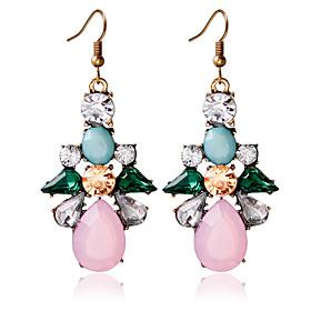 1pair/pink Stud Earrings forWomen 5184565