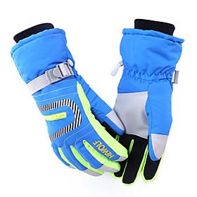 Ski Gloves Winter Gloves Women's / Men's / Unisex Activity/ Sports Gloves Keep Warm / Waterproof / Windproof HewolfSki  Snowboard /
