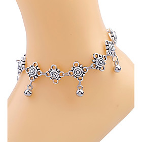 Women's Anklet/Bracelet Gold Plated Alloy Unique Design Sexy Bohemian Fashion Drop Jewelry Silver Women's Jewelry Daily Casual 1pc
