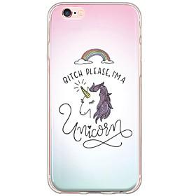 Coque Pour iPhone 6s Plus / iPhone 6 Plus / iPhone 6s iPhone 6 Plus / iPhone 6 Ultrafine / Translucide Coque Licorne Flexible TPU pour iPhone 6s Plus / iPhone