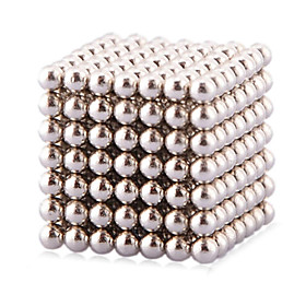 Magnet Toys 216 Magnet Toys Executive Toys Puzzle Cube DIY Toys Magnetic Balls Silver Education Toys For Gift