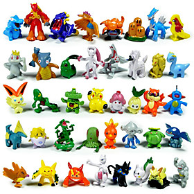 Pocket Little Monster Action Figures 144Pcs Cute Monster Mini Figures Toys Best ChristmasBirthday Gifts 3cm 4585392