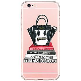 $Για Θήκη iPhone 6 / Θήκη iPhone 6 Plus / Θήκη iPhone 5 Εξαιρετικά λεπτή / Ημιδιαφανές tok Πίσω Κάλυμμα tok Σέξι κυρία Μαλακή TPU Apple