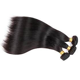 Top selling 8A Brazilian best quality Straight hair 3 bundles/150g Indian Peruvian Malaysian Hair