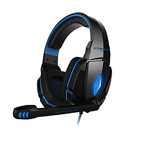 EACH G4000 Stereo Gaming Headset Headphone with Mic Volume Control