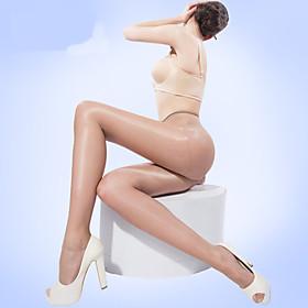 BONAS Dames Solide Kleuren Gemiddeld Legging-@7006