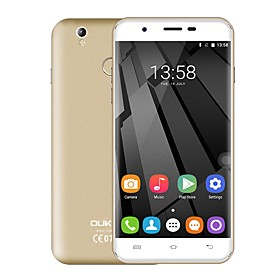 OUKITEL U7 PLUS 5.5 Android 6.0 4G Smartphone (Dual - SIM Quad Core 13 MP 2GB 16 GB Grau \/ Gold \/ Rosa)