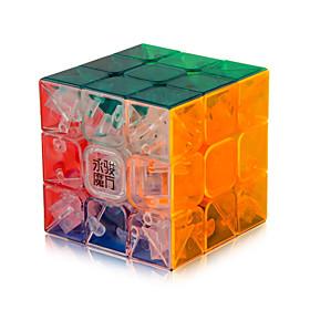 Yongjun Smooth Speed Cube 333 Speed Magic Cube Transparent ABS