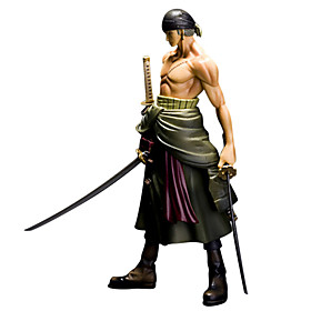 Anime Action Figures Inspired by One Piece Roronoa Zoro PVC 25 CM Model Toys Doll Toy 4916139