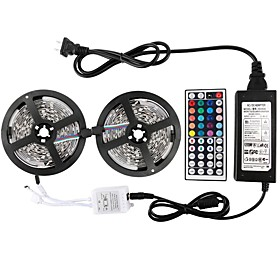 10m Lichtsets 300 Leds 5050 Smd Rgb Wasserfest / Fernbedienungskontrolle / Schneidbar / Ip65 / Abblendbar / Verbindbar / Fur Fahrzeuge Geeignet / Selbstklebend