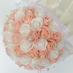 Wedding Flowers Bouquets Wedding Party / Evening Foam 9.84(Approx.25cm) 9.84(Approx.25cm)